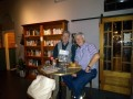 G13 With Eamonn Hennessy who runs Buck Mulligans  a distinctive whisky and books bar in Northcote  Melbourne